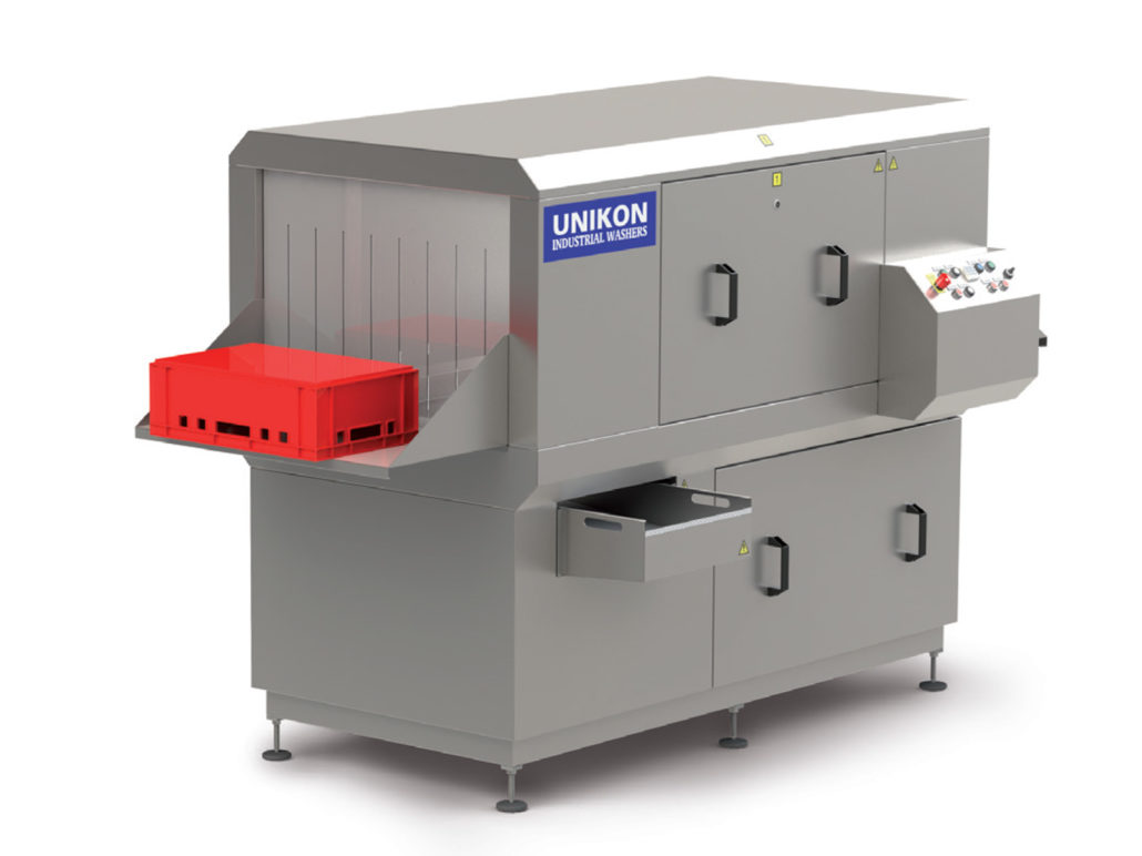 Tote, Crate & Pallet Industrial Washer